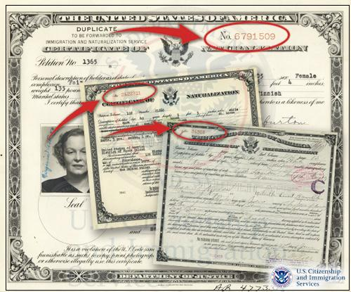 Wondering how to get a duplicate US citizenship certificate ...